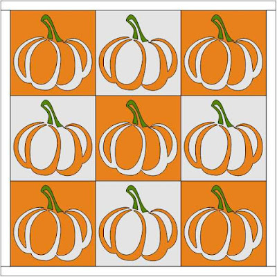 Nine Patch Pumpkins