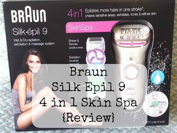 Braun Silk Epil 9 4 in 1 Skin Spa {Review}
