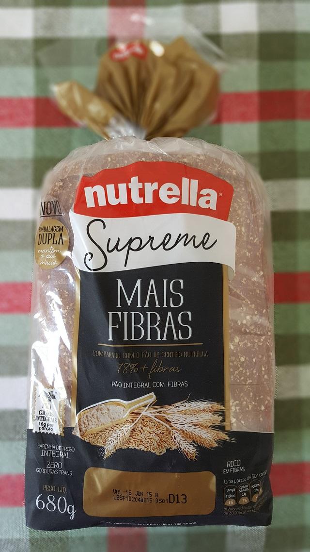 nutrella Direto da Prateleira: Nutrella Supreme - Mais Fibras