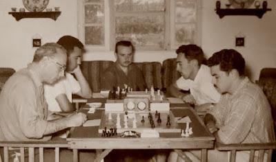 1956 - I Torneio de Xadrez da Ribeira de São João
