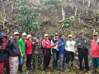 Wujudkan Konservasi Alam, Lambar Laksanakan Penanaman Selentak di Seluruh Kecamatan