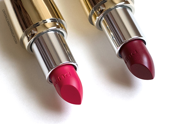 PUPA I'm Lipsticks 003 Wild Red 004 Wild Fuchsia Review