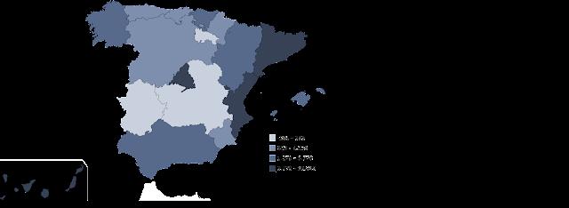 Mapa Saldo Migratorio Exterior, francisco javier tapia, knowmadrid