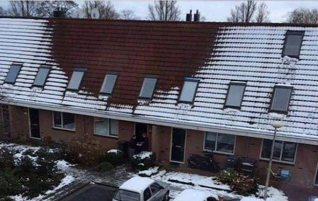 الشرطة الهولندية تكتشف جريمة داخل هذا المنزل بسبب شكل السقف.. هل يمكنك توقعها؟