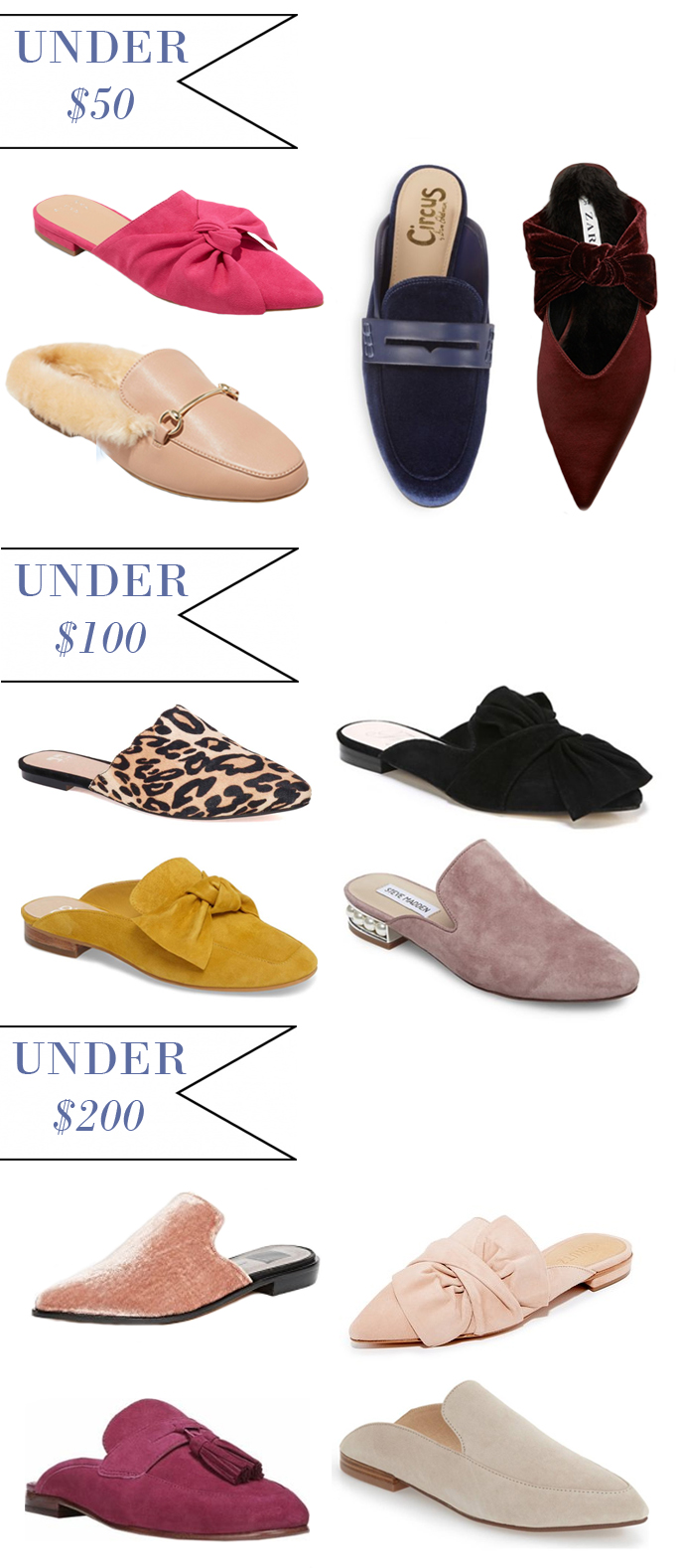 b4aea201e Here s some of the best mules slides loafers at three different price  points to shop for this fall