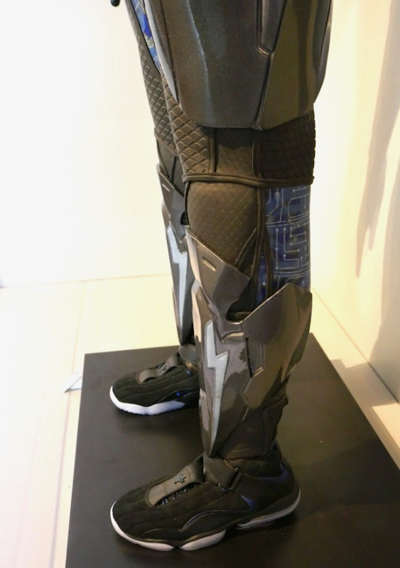 Black Lightning costume boots