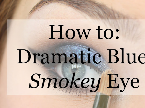 HOW TO: Dramatic Blue Smokey Eye