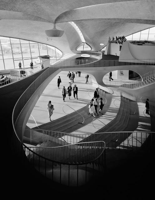 Terminal TWA Aereopuerto JFK. Eero Saarinen
