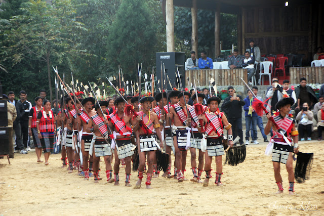 Nagaland Photos Lotha Naga tribe traditional dress spear hornbill festival nagaland 2