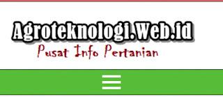 Forum dan Komunitas Pertanian Indonesia AgroTeknologi.web.id