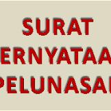 Contoh Surat Pernyataan Pelunasan Pembayaran untuk Pembelian Sebidang Tanah