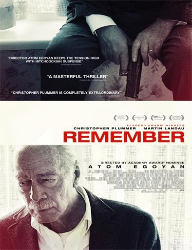 Ver Recuerdo (Remember) (2015) Online