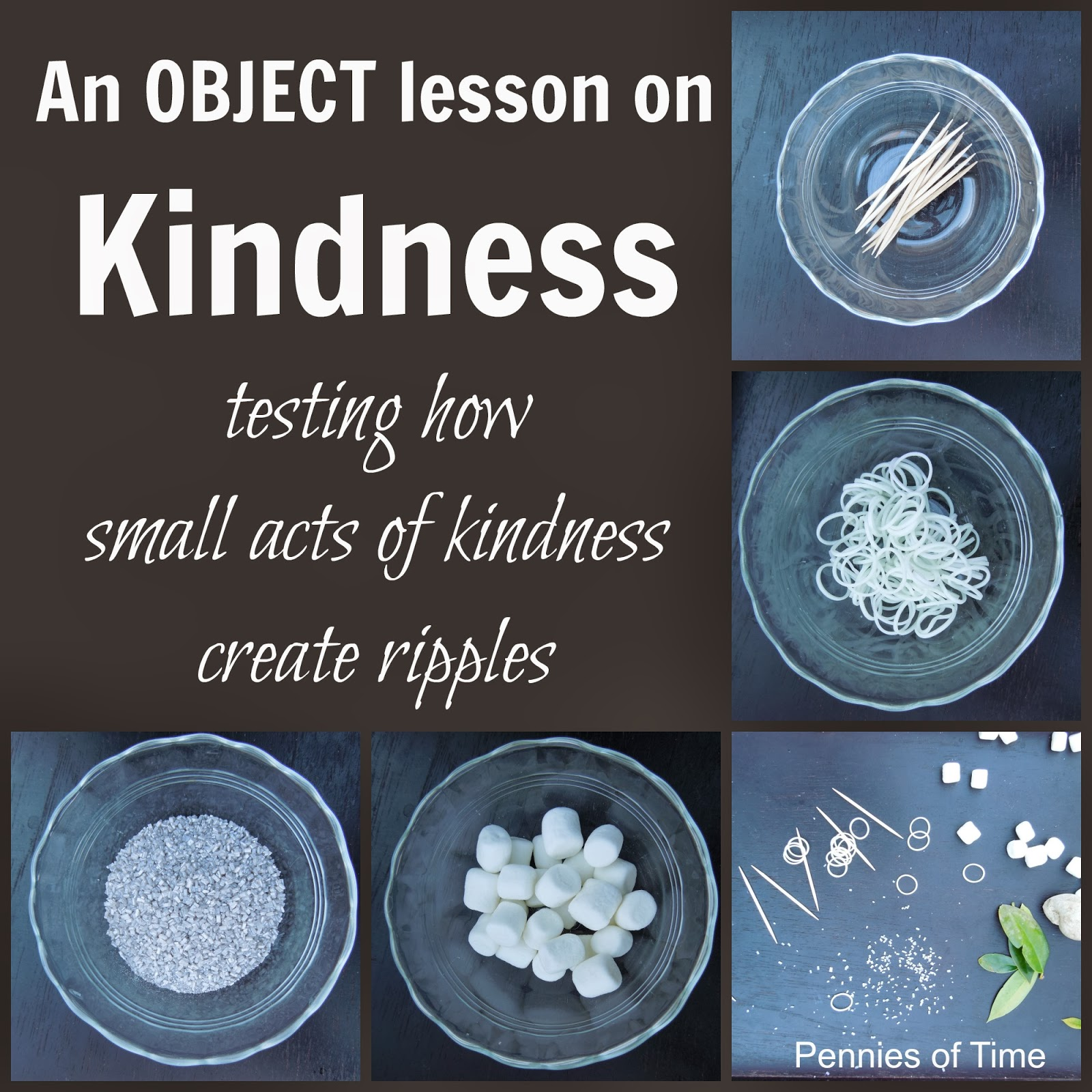 Pennies Of Time Object Lesson On Acts Of Kindness