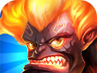 Download Land of Heroes Mod Apk v0.06.0680q  Mod High Damage+God Mod Full Version