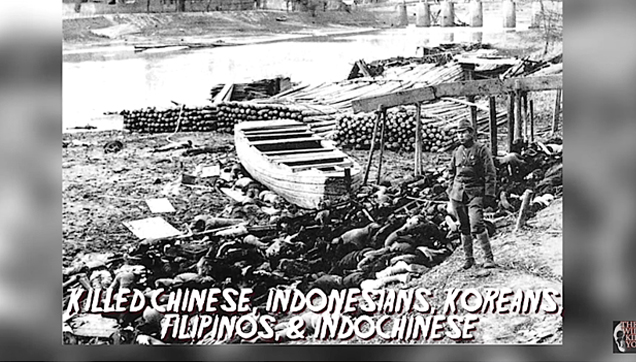 Emperor Hirohito of Japan ordered the killings of million of Asians during WWII