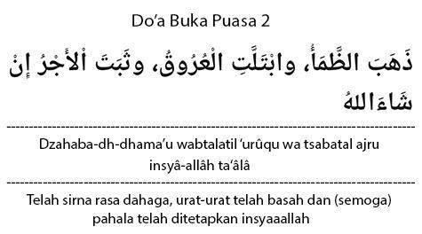 Doa Buka Dzahaba