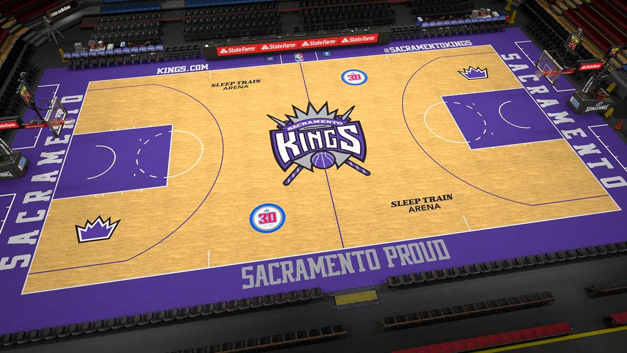 Kings new court in NBA 2K15