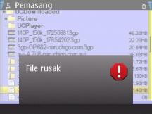 Cara Mengatasi File Rusak Di Hp Symbian Dokter Nokia E63 S60 3rd