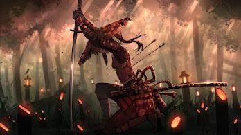 Samurai, Girl, Katana, Fantasy, Warrior, 4K, #4.607