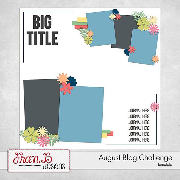 August Blog Challenge