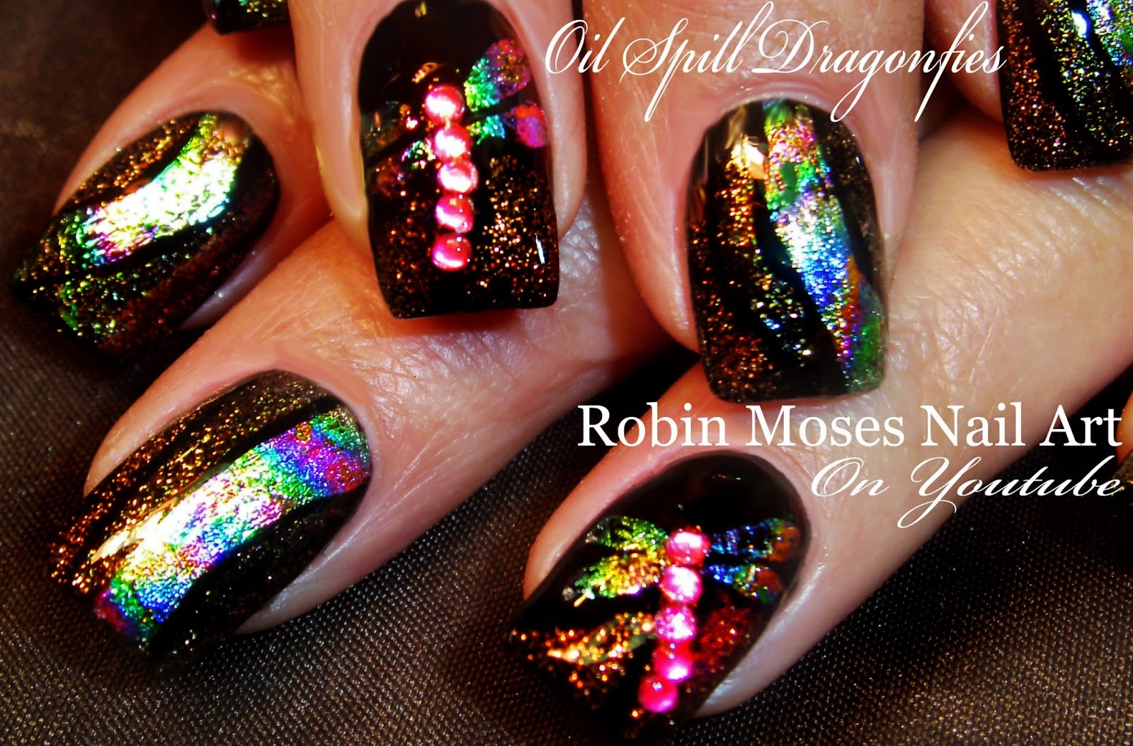 Nail Art By Robin Moses Nail Foilling How To Get Foil To Work And