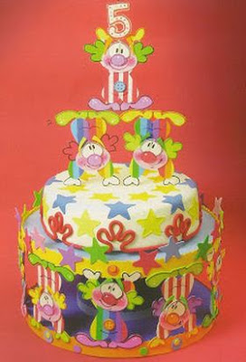 payasos-pastel-decorado-foami