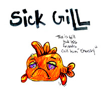 Gill, How to treat sick fish, 1