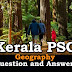 Kerala PSC Geography Question and Answers - 36