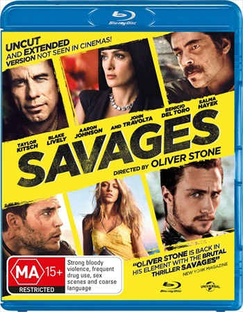 Savages 2012 UNRATED Dual Audio Hindi 720p BluRay 1.1GB