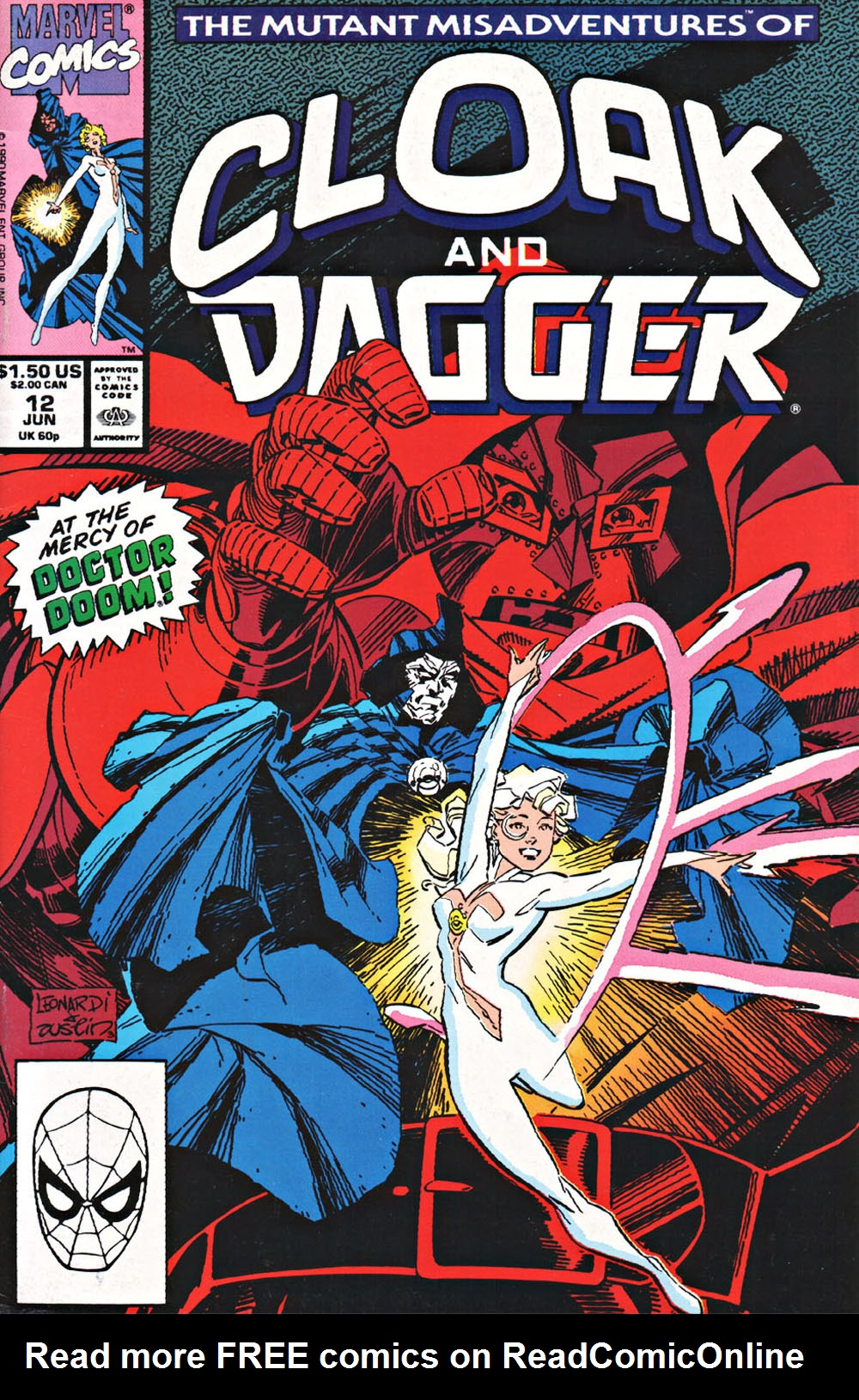 Cloak and Dagger (1990) 12 Page 1