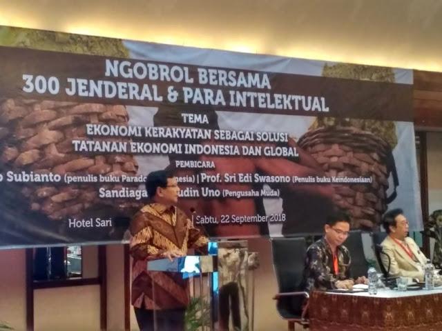 Prabowo: Indonesia Merdeka untuk Berdaulat, Bukan Jadi Antek Asing
