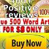 Unique 500 Word SEO Content