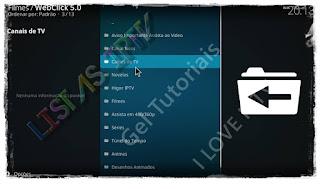 "Como Instalar o Add-on ""WebClick 5.0"" no KODI - FIlmes Online do Gdrive"