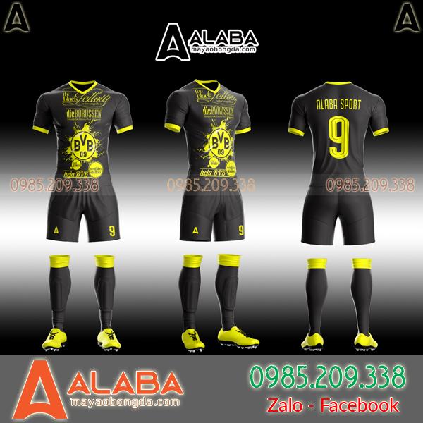 Áo CLB Dortmund 2019 tự thiết kế mã ALB DO09