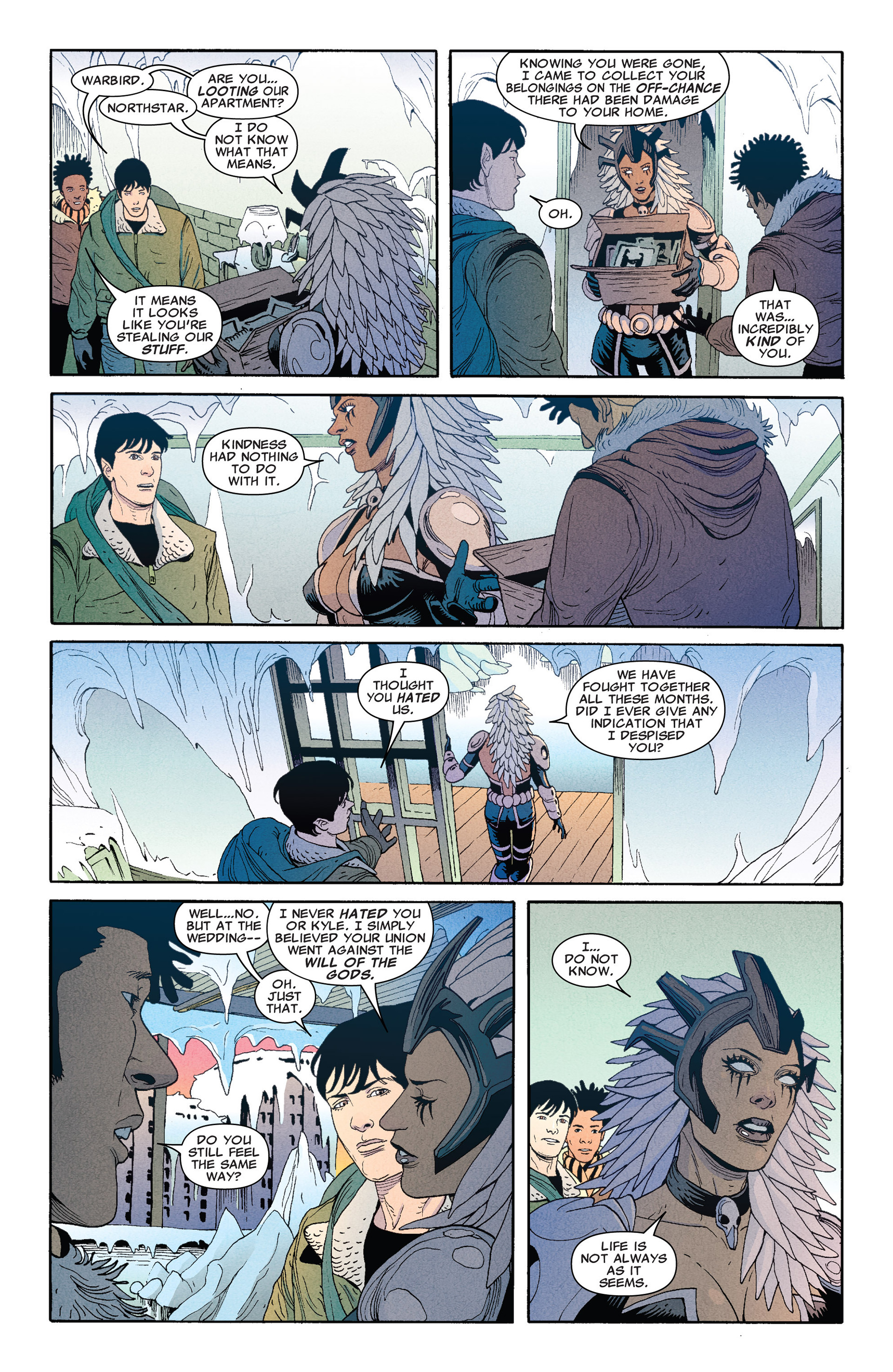 Read online Astonishing X-Men (2004) comic -  Issue #66 - 7