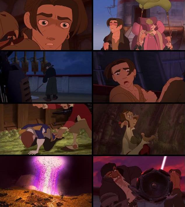 Treasure Planet 2002 Dual Audio Hindi 480p BRRip 300mb