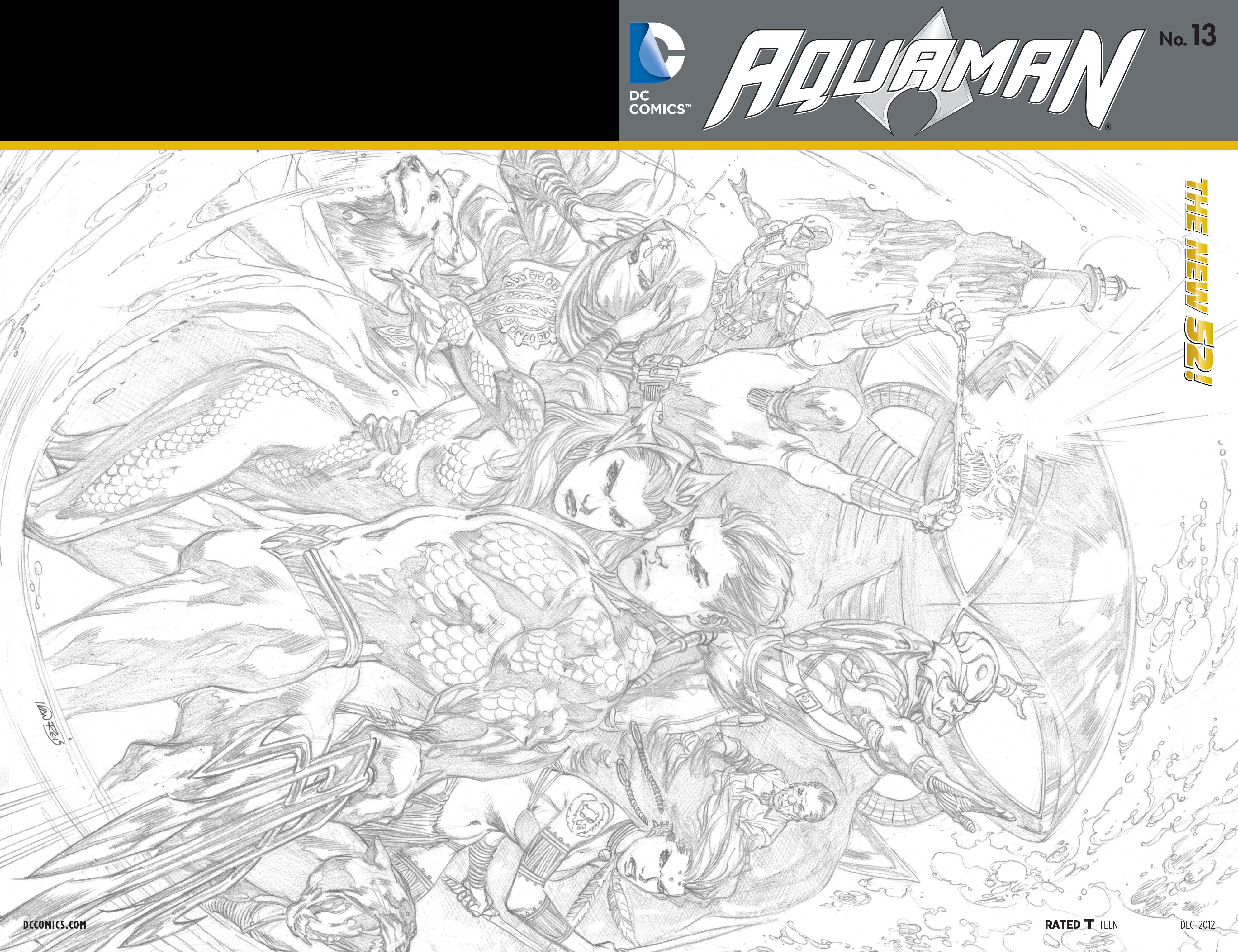 Read online Aquaman (2011) comic -  Issue #13 - 22