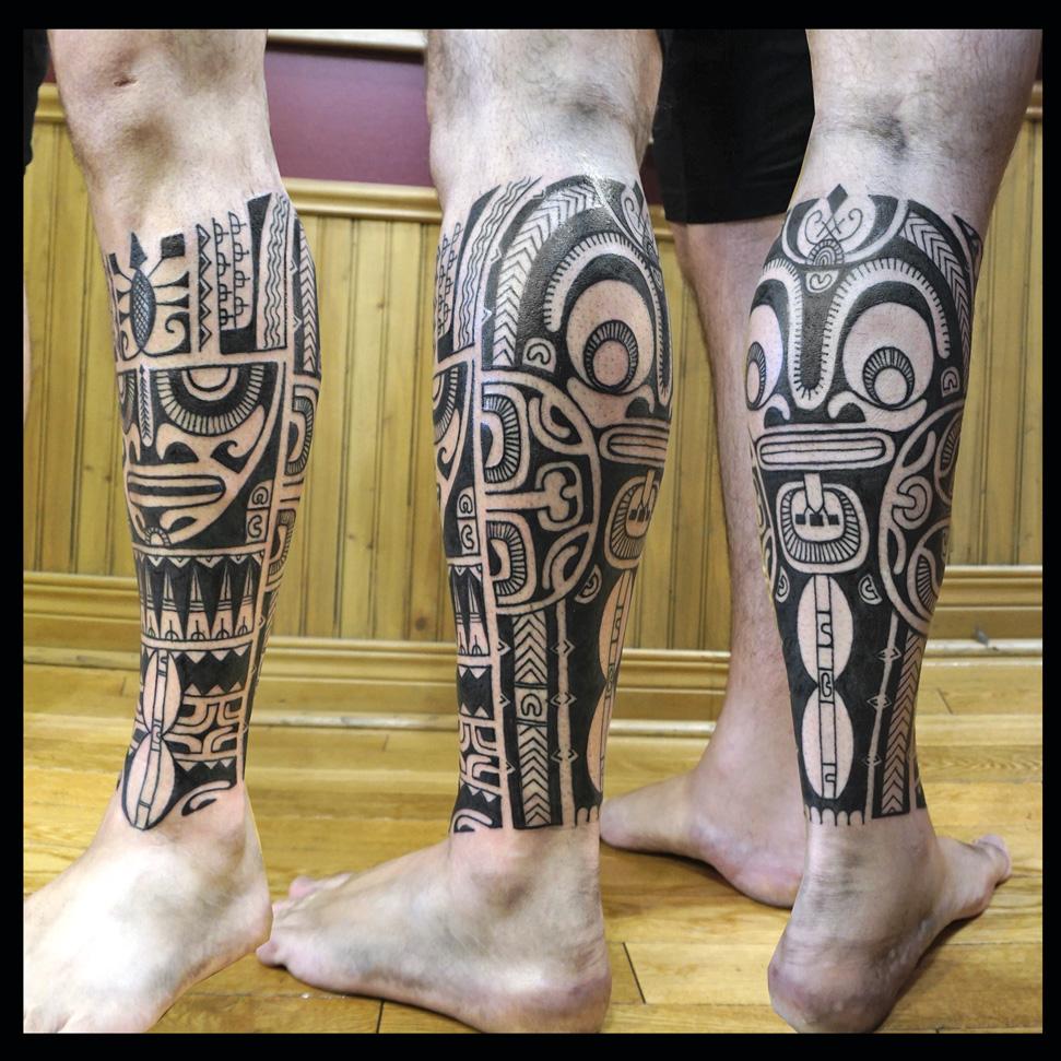 Tatouage Polynesien Polynesian Tattoo Mollet Tribal Polynesien Montreal