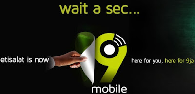 Etisalat Unveils Its New Identity As 9Mobile - Check Out thier New Logo, Website Url & Mobile App