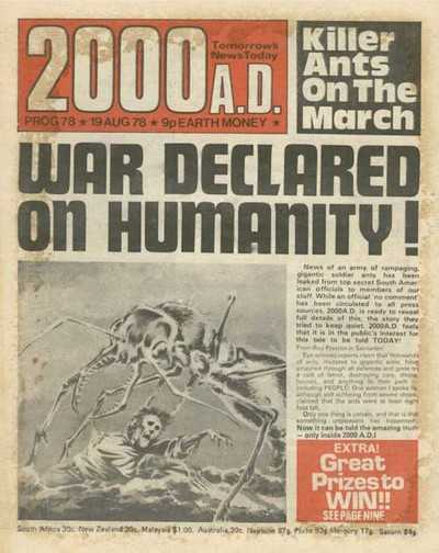 2000 AD Prog 78, Ant Wars