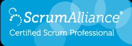 Certified Scrum Professional Logo by Scrum Alliance