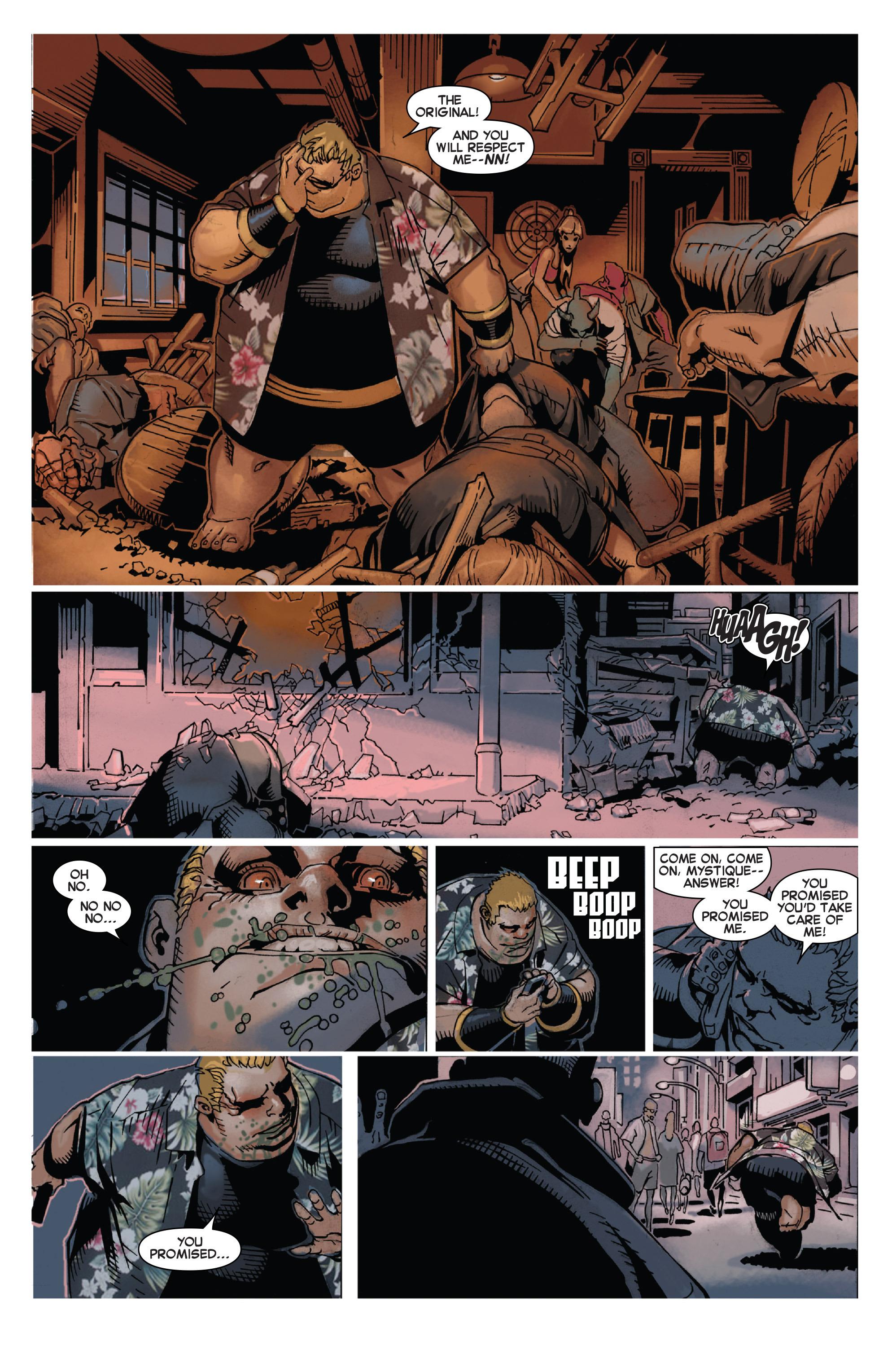 Read online Uncanny X-Men (2013) comic -  Issue #21 - 8
