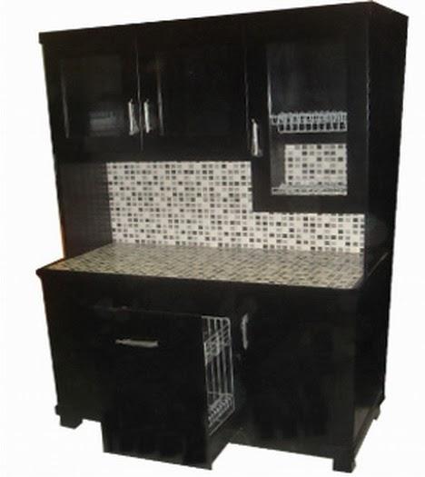 Desain Lemari/rak Piring untuk dapur rumah minimalis