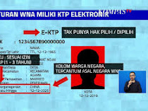 Meneropong Kebijakan E-KTP bagi WNA