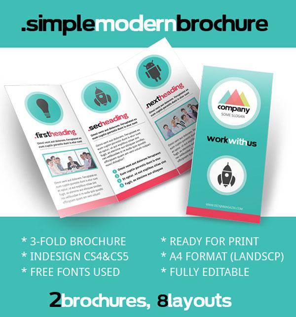 Brochure Zafira Pics: Indesign Brochure Templates