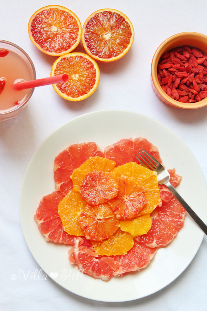Rezept | Superfood HOT DETOX Saft mit Ingwer, Grapefruit & GojiBeeren