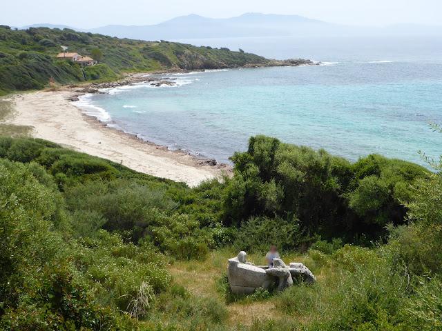 Galère Grecque Corse vue de loin