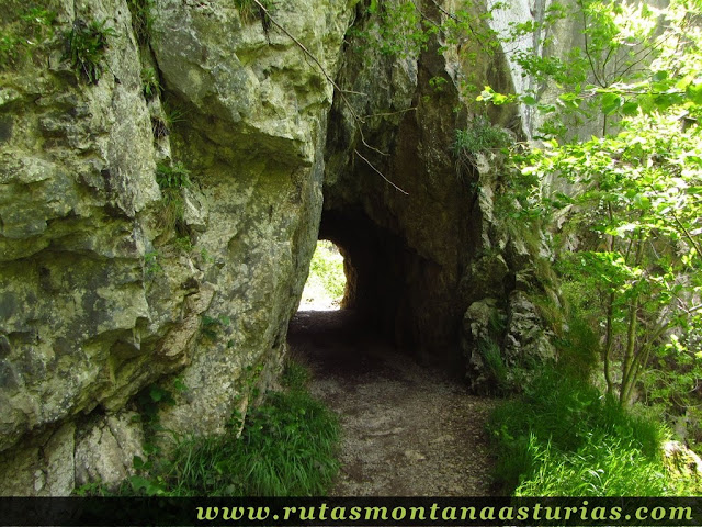 Segundo túnel de las xanas