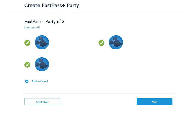 FastPass Website  Website Walt Disney World Florida
