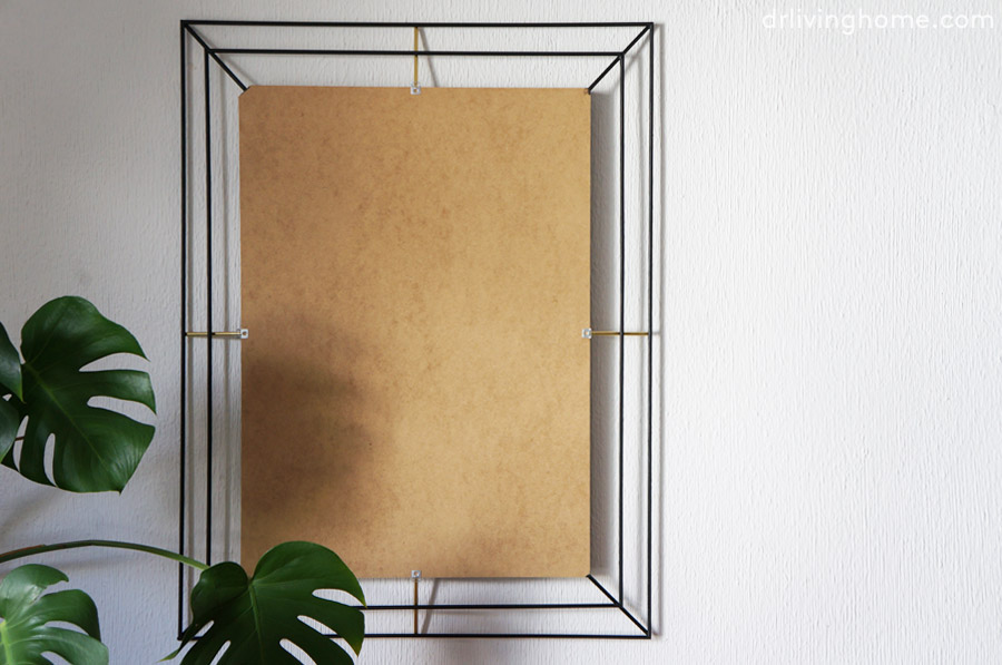Diy marco decorativo